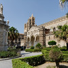 Palermo - this is one view of the exterior of the magnificent Palermo Duomo (Cathedral).