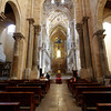 Cefalu - a view of the main part of the interior of the Duomo.