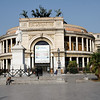 Palermo - this is the Teatro Politeama (Politeama Theatre), which is constructed in neoclassical style.  This is located in the centre of the city, and used for a variety of shows.