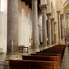 Cefalu - another view of the Duomo interior.