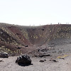 Mt. Etna - these are some of the barren craters on the side of the mountain.