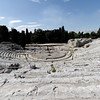 Syracuse - a view of the ancient Greek Theatre.