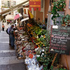Taormina - a local market in one of the side streets.