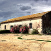 Between Catania and Syracuse - this is one of the buildings on the farm owned by the Contessa.