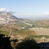 Sicily - this elevated freeway was visible from the ancient theatre at Segesta.