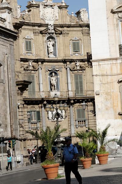 Palermo - one distinctive building.