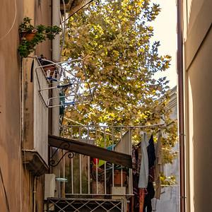 A balcony in Tropea