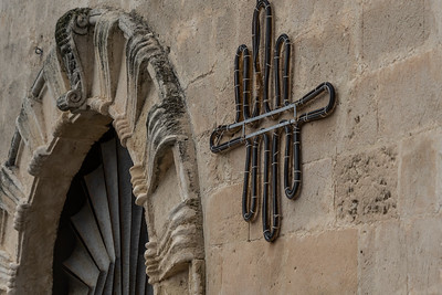 The symbol is a representation of the upper and lower cities of Matera