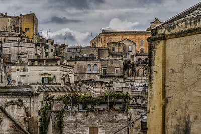 Mater Sassi with the drama of mid-morning clouds