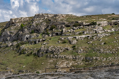 Another view of the Neolithic cave dwellings