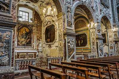 Inside Palermo Cathedrral