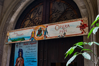 A family owned puppet theatre in Palermo