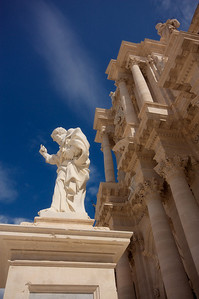 Cathedral exterior, Ortygia
