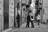 The kiss, Palermo, Sicily, Italy