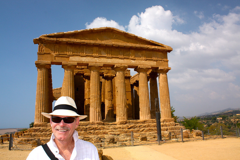 Best preserved...Temple of Concordia. (my husband too!)