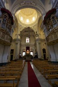 Cathedral interior, Piazza Amerina.