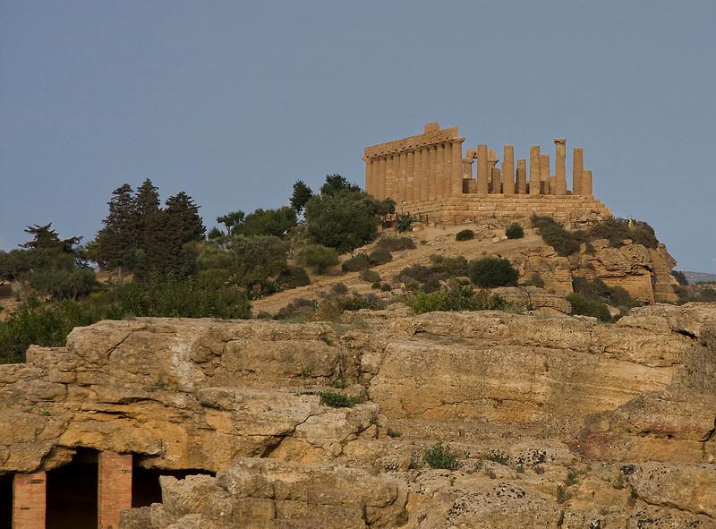 Agrigento Valle dei Templi Tempio di Hera Lacinia