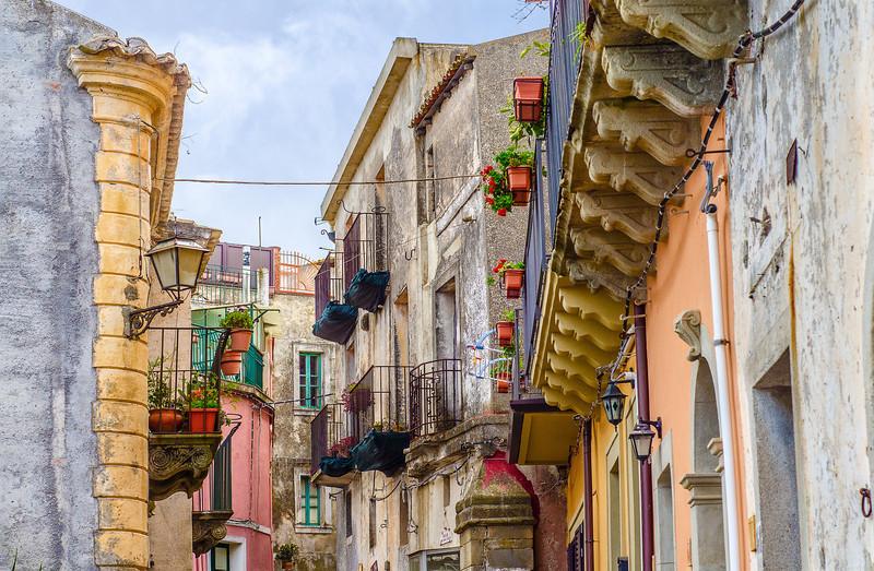 Sicilian Street view I