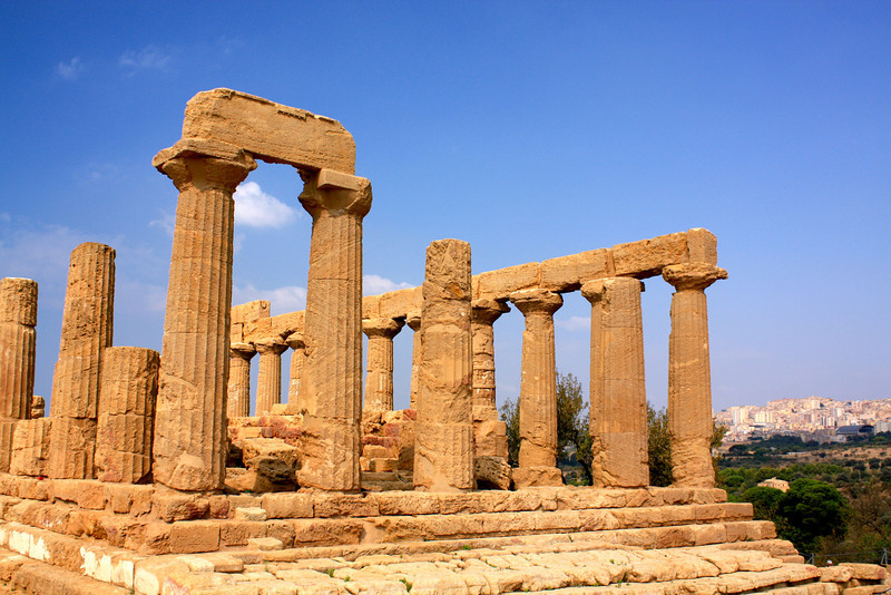 Temple of Juno...east section of Agrigento