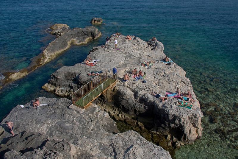 Ortygia beach