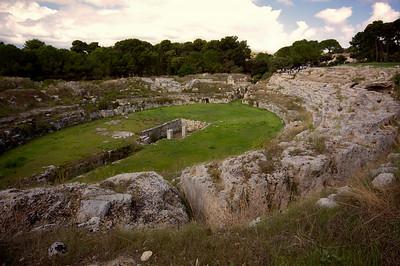 The Roman Ampitheatre, Syracuse