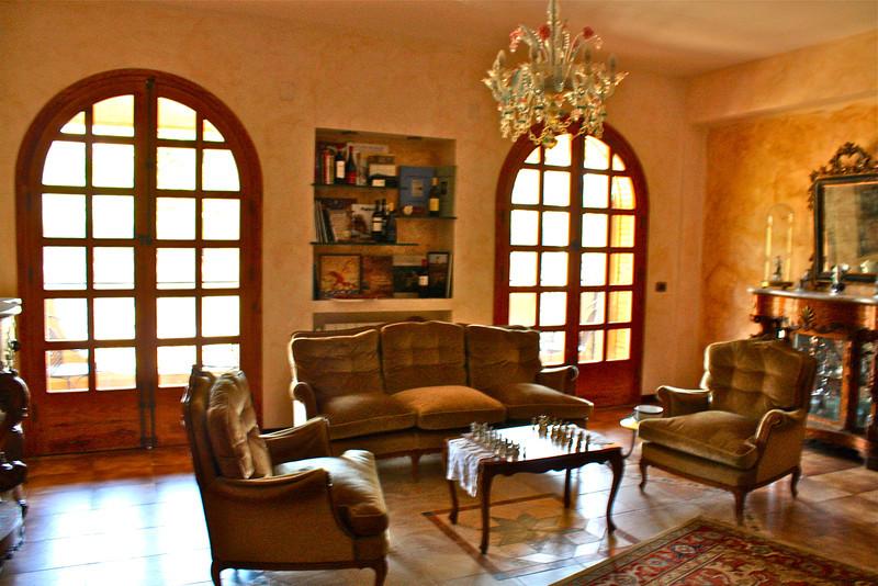 Villa Diana sitting room