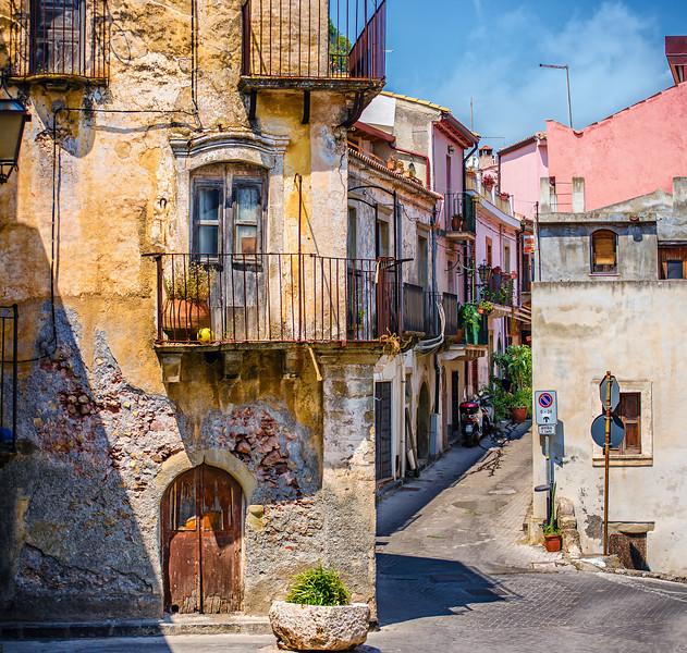Sicilian Street view VI