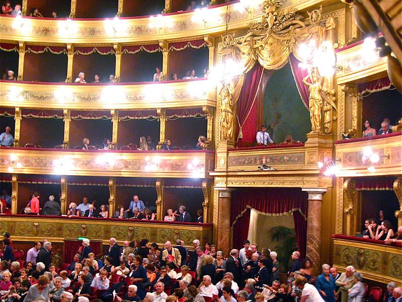 The Royal Box at Teatro Massimo