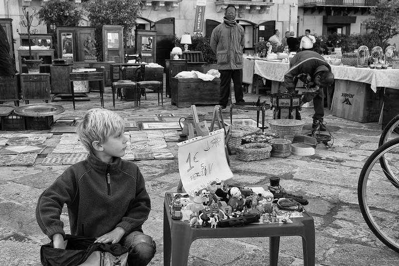 Flea market, Palermo, Sicily, Italy