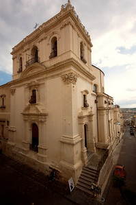 Santa Chiara church exterior, Noto