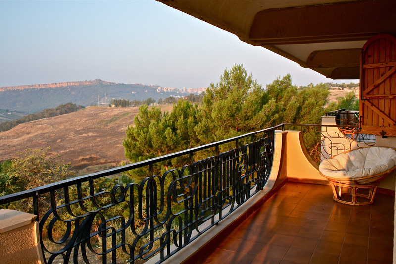 Villa Diana B&B....we thought we'd never get there.  Our terrace.