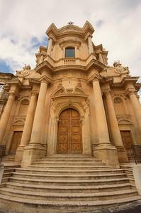Church exterior, Noto