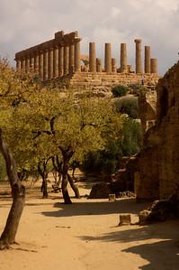 Valle dei Templi, Agregento