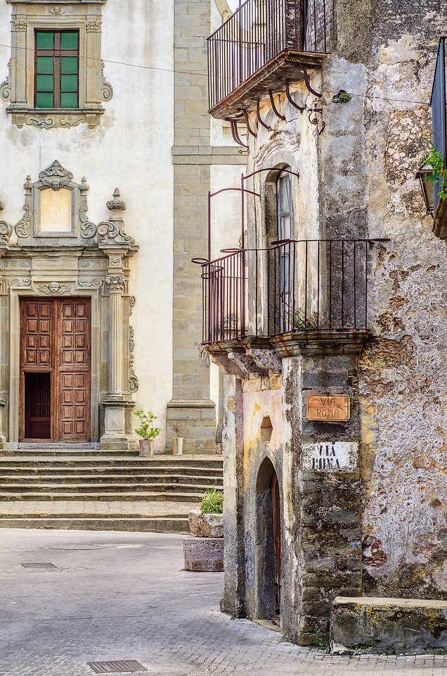 Sicilian Street view IV