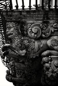 Balcony detail, Noto