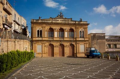 Theatre, Piazza Amerina