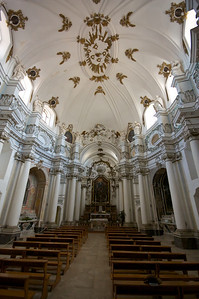 Santa Chiara church interior, Noto