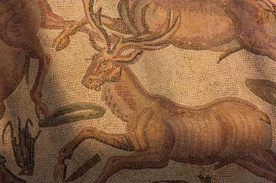 Mosaic floor, Villa Romana, Piazza Amerina