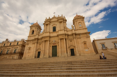Cathedral exterior, Noto