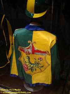 Contrada del Bruco's Jockey Silks for Palio in Siena, Italy