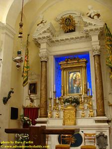 Chapel of the Contrada del Bruco in Siena, Italy