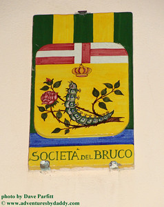 Museum of the Contrada del Bruco in Siena, Italy