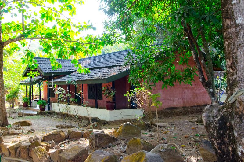 A chalet at Eden Park Resort
