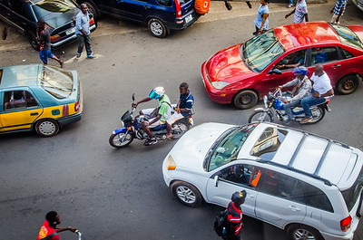 It's amazing how a hundred of these okada(bike) riders don't die a day.