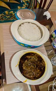 Rice en plasas.