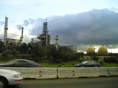 Oil facility in Martinez