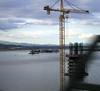 Building the new Benicia-Martinez bridge section