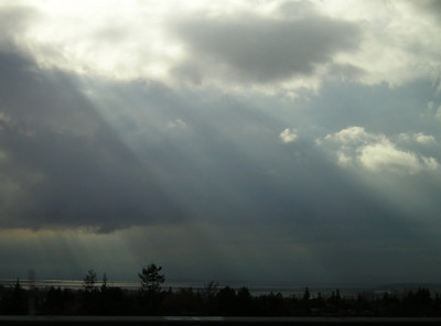 Lovely sky.