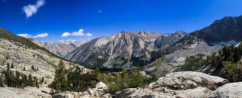 Above East Lake - Panoramic