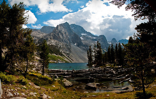 reflection lake panoramic